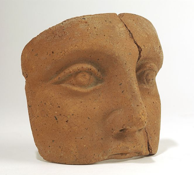 File:A clay-backed face. Roman votive offering Wellcome L0035829.jpg