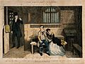 A convicted thief sits in prison with his distraught sister Wellcome V0019427.jpg