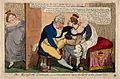 A gouty man having his foot caressed by a voluptuous woman w Wellcome V0011000.jpg