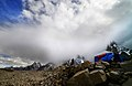 A sudden storm after the calm on Biafo glacier, in the Northern region of Pakistan.jpg