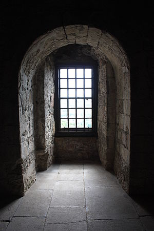 Castle Campbell - A window alcove at Castle Campbell