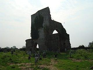 Abbeylara Town in Leinster, Ireland
