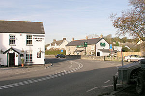 Cowbridge with Llanblethian - Image: Aberthin 1