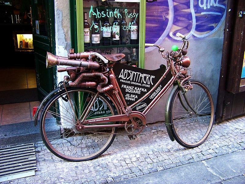 Louer un vélo à Prague : Nos conseils et les lieux de location. Photo de ŠJů.