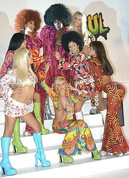 S Disco Fashion Fancy Dress