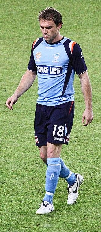 Adam Casey - Casey playing for Sydney FC in 2008