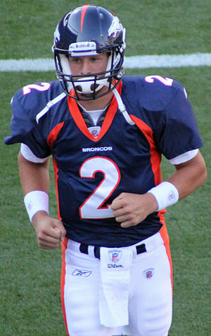 Adam Weber - Weber in the 2011 preseason