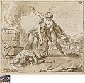 Adam en Eva bewenen de dode Abel, circa 1771 - circa 1844, Groeningemuseum, 0041339000.jpg