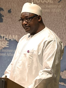 Adama Barrow, President, Republic of the Gambia - 2018 (cropped).jpg
