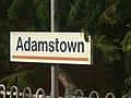 Adamstown Railway Sign - panoramio.jpg