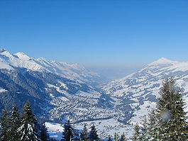Adelboden in winter