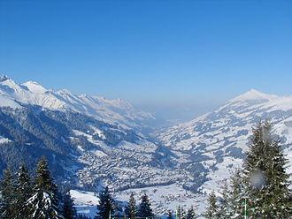 Adelboden - Image: Adelboden in winter