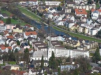 Adliswil - Image: Adliswil Shil Felsenegg IMG 5294