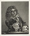 Adolph von Menzel - Essay on Stone with Brush and Scraper- Portrait of Molière - 1940.1148.2 - Cleveland Museum of Art.jpg