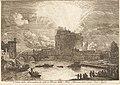 Adrien Manglard Veduta della girandola a castel sant'angelo (fireworks display over the castle sant'a 1982.49.2.jpg