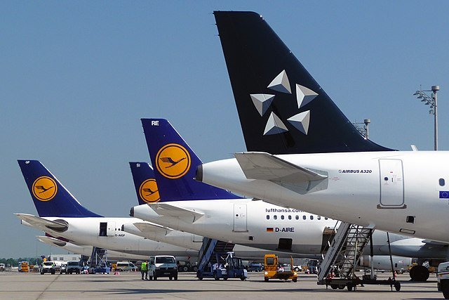Lufthansa is one of the founding members of the Star Alliance