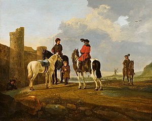 Riders at Rest by Burg Ubbergen