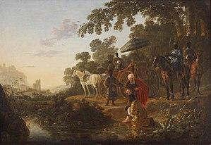 Saint Philip Baptising the Ethiopian Eunuch