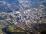 Aerial view of Columbus, Ohio, September 2015.JPG