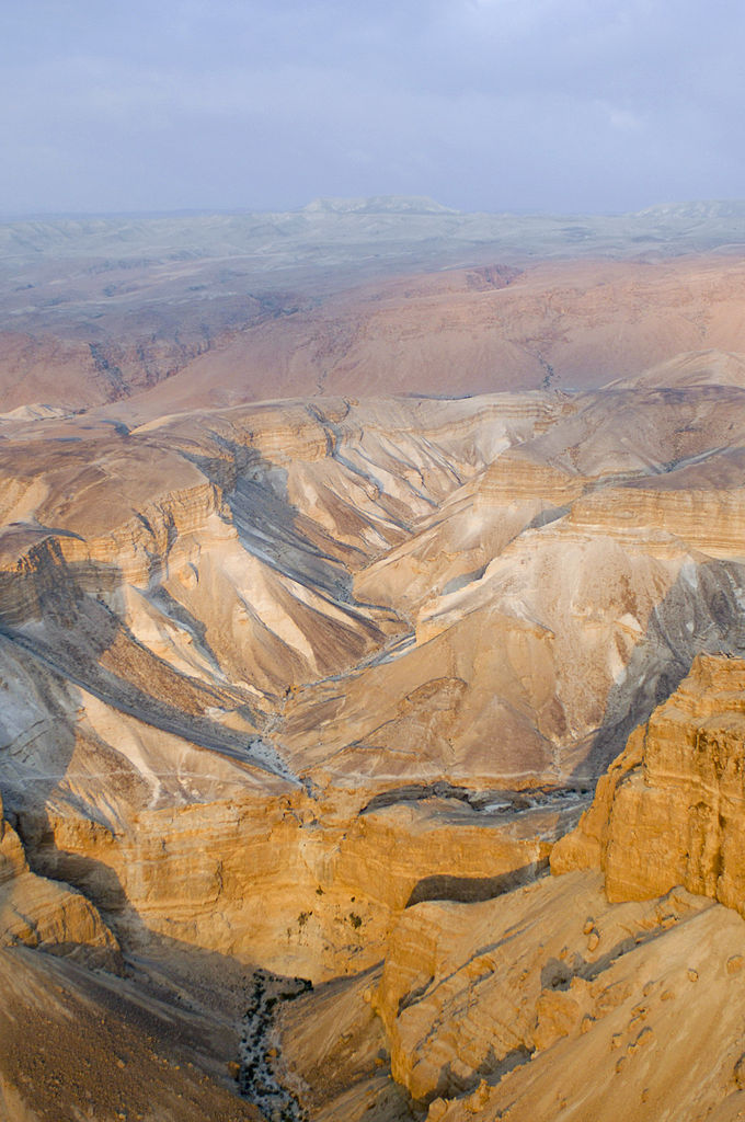 File Aerial View Of The Judean Desert Near Masada