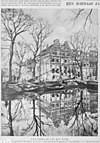 afbeelding van keizersgracht-hoek westermarkt (gesloopt) - amsterdam - 20018248 - rce