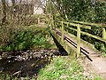 Afon Tarell footbridges - geograph.org.uk - 396946.jpg