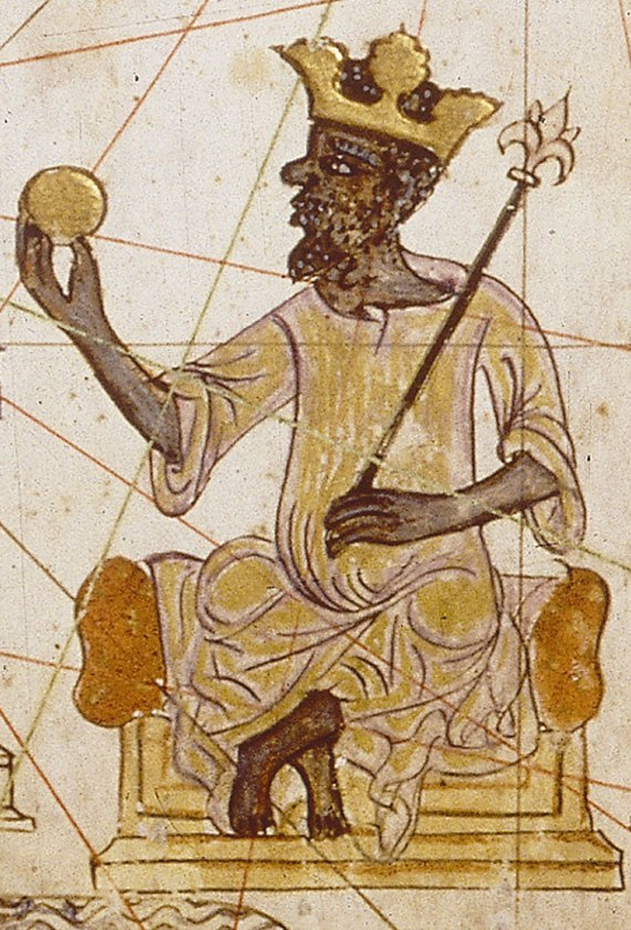 African king from Catalan Atlas (1375)