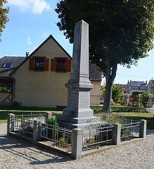 Aguilcourt - Aguilcourt War Memorial