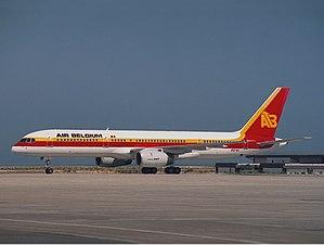 Air Belgium Boeing 757 Aragao.jpg