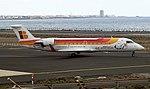 Air Nostrum EC-HSH Canadair CRJ200 Arrecife(5) (37422404342).jpg