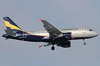 VP-BBU - A319 - Rossiya