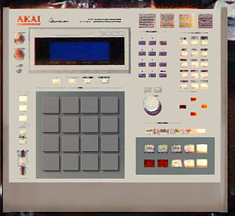Music Production Controller - Akai MPC3000