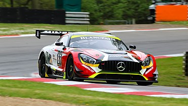 Mercedes Amg Gt3 At Brands Hatch In 2016