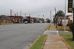 Alabama State Route 25 in Centre, Alabama.JPG