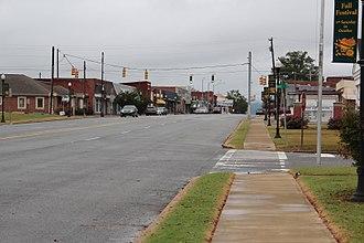 Centre, Alabama - Downtown Centre