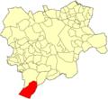 Albacete Nerpio Mapa municipal.png