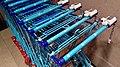 Albert Heijn shopping carts in the Korenbeurs, Groningen (2019) 01.jpg
