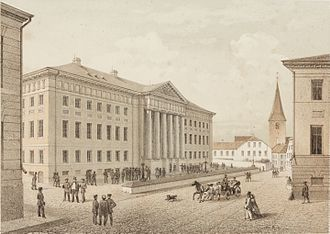 University of Tartu - The university in 1860, during its 'Golden Age'.