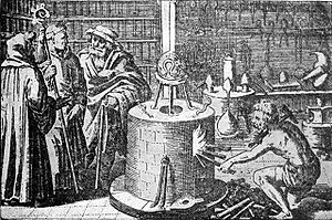 An Alchemical Laboratory, from The Story of Al...