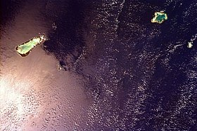 Image satellite du groupe d'Aldabra.