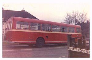 Alder Valley - Bristol RE in Farnham in 1972