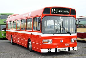 Alder Valley bus 218 (KPA 369P), 2010 Cobham bus rally (3).jpg