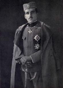 Porträt eines Mannes in Uniform