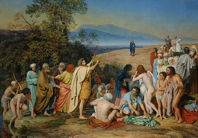 La aparición de Cristo ante el pueblo, de Aleksandr Ivánov