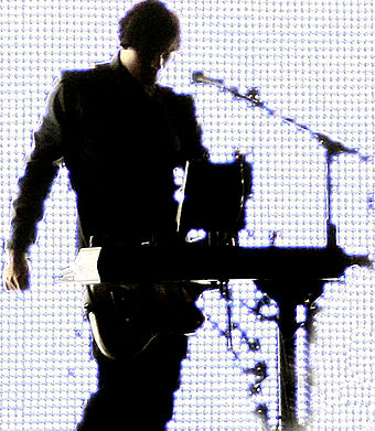 Alessandro Cortini, during a performance in 2007 Alessandro Cortini.jpg