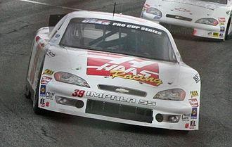 Alex Bowman - Bowman's 2010 Pro Cup car