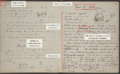 Alexander Graham Bell's notebook, March 9, 1876.PNG
