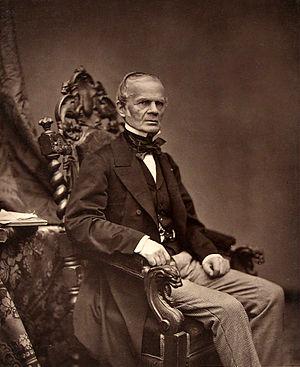 Alfred-Auguste Cuvillier-Fleury - Alfred-Auguste Cuvillier-Fleury, photo by Antoine Samuel Adam-Salomon.