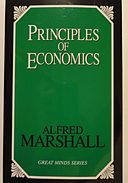 Alfred Marshall - Principles of Economics (1890).JPG