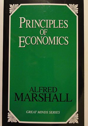 Principles of Economics (Marshall) - Image: Alfred Marshall Principles of Economics (1890)